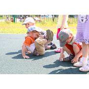 Покрытия для детских площадок. Детские площадки фото