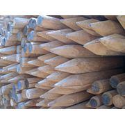 Колья шесты подпорки деревянные