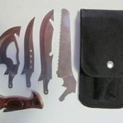 Набор ножей туристический Grand Way Х-4 фото