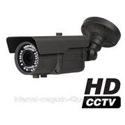 Уличная HD-SDI видеокамера FullHD, f=2,8-12 мм с ИК-подсветкой фото