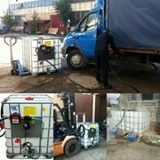 Персональная АЗС еврокуб. Мобильный топливный модуль для дизельного топлива солярки фото