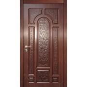 Входные двери с художественной резьбой 21 фото