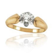 Кольца с бриллиантами фото