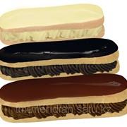 Соус- глазурь темный для эклера,добавки пищевые фото