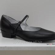 Туфли для народных танцев Вариант черный фото
