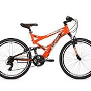 "Велосипед Stinger 26"" сталь,аморт Versus 21 скор. TY/TX35/EF41/TZ21 2V ОРАНЖ 26SFV.VERSU.20OR5 фото"