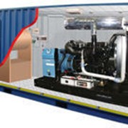 Стационарный дизельный электроагрегат на открытой раме ЭДД-500-4 фото