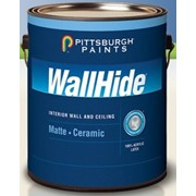 Краска Wallhide 80-210 - 100% Акриловая Краска Для Стен Матовая керамическая краска на водной основе компании PITTSBURGH PAINTS, PPG (США) фото