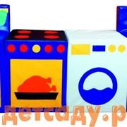 Набор мягких модулей Кухня игровая фото