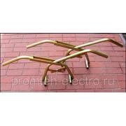 Захват клещи для бордюра (поребрика) с резиновым зажимом фото