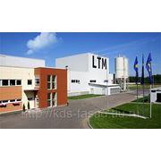 Фиброцементные плита LTM (аналог MINERIT) окрашенная по каталогу RAL фото