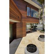 Фасадные системы из экзотических пород древесины фото