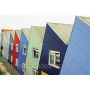 RESOPLAN. Фасадные пластиковые панели HPL. Листовой декоративный пластик конструкционный фасадный. фото