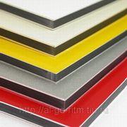 Алюминиевые композитные панели (Алюкобонд) фото