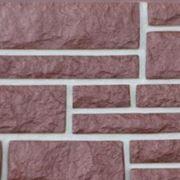 Фасадная панель ALSAMA, под камень, Ruset Brown фото