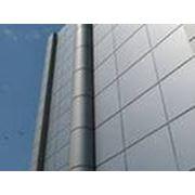 Фасадная алюминиевая композитная панель 4мм фото