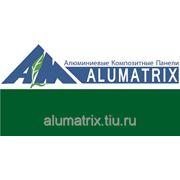 Алюминиевые композитные панели Alumatrix (Алюматрикс) Зеленый фото