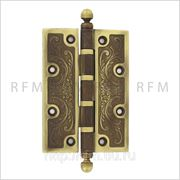 Дверная петля 126х89х3,5 мм, универсальная, допустимая нагрузка на 2 петли 60 кг. АРТ MC001-A.38 фото