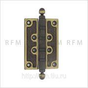 Дверная петля 100х70х4 мм, универсальная, допустимая нагрузка на 2 петли 60 кг. АРТ 2307 BSS фото