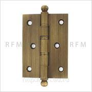 Дверная петля 102х76х2,5 мм, универсальная, допустимая нагрузка на 2 петли 60 кг. АРТСЕ86Н.04.tern А фото