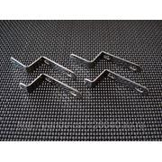 Металлические Z-образные Крепления (верх-низ) для Москитной Сетки фото