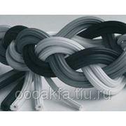 Резиновый шнур 5мм, 100м серый фото