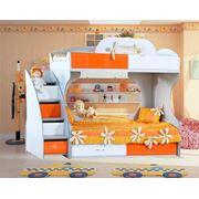 Двухярусная кровать Пионер-МДФ фото