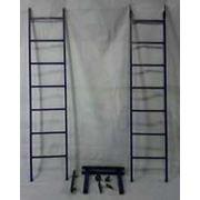 Многофункциональная металлическая лестница фото