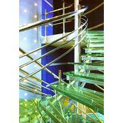 Лестничные ограждения и стеклянные лестницы фото