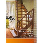 Лестница Л-03 180 градусов Левозаходная,Правозаходная фото