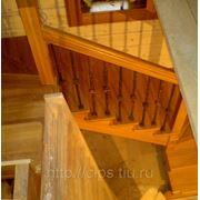 Лестница косоурная фото