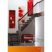 Лестница Л-05 90 градусов Левозаходная,Правозаходная фото