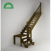 Лестница К 002 с поворотом фото