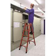 Лестница из стекловолокна KRAUSE 5 перекладин, двухсторонняя KRAUSE фото