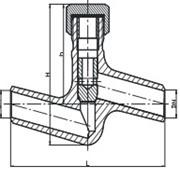 Клапан обратный 3с, затвор обратный 4с