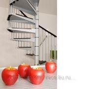 Стальная винтовая лестница Civik 120-13 фото