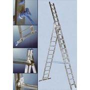 Лестница-стремянка трехсекционная Elkop Profi VHR 3x14 PK