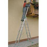 Лестница-стремянка трехсекционная универсальная itoss 7607 фото
