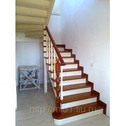 """Изготовление лестниц из сосны """"под ключ"""" фото"""