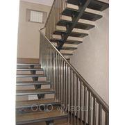 Металлические каркасы лестниц, лестницы под ключ фото