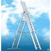 Лестницы в ассортименте,а также- Лестница 3-х секционная 6315 3х15
