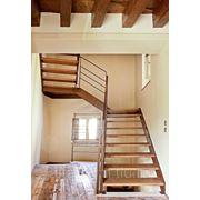 Лестница маршевая - модель Elite Line Wood фото