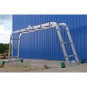 Лестница-трансформер Т 445 2х4+2х5 ступени фотография