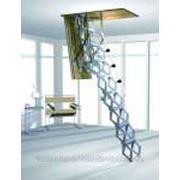 Лестница чердачная Roto Ножничная Elektro (h от 220-279) фото
