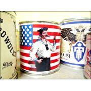 Винтажная свеча Солдат США фото
