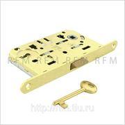 Бесшумный замок с 1 межкомнатным ключом, AGB В01101.50.23 фото