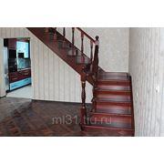 Лестницы из лиственницы фото