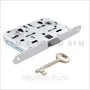 Бесшумный замок с 1 межкомнатным ключом, AGB В01101.50.34 фото