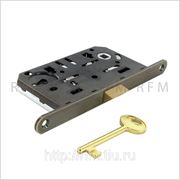 Бесшумный замок с 1 межкомнатным ключом, AGB В01101.50.12 фото