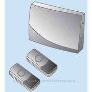 Звонок ЗББ-12/1-2М (беспр., бат., 2 кнопки) TDM фото